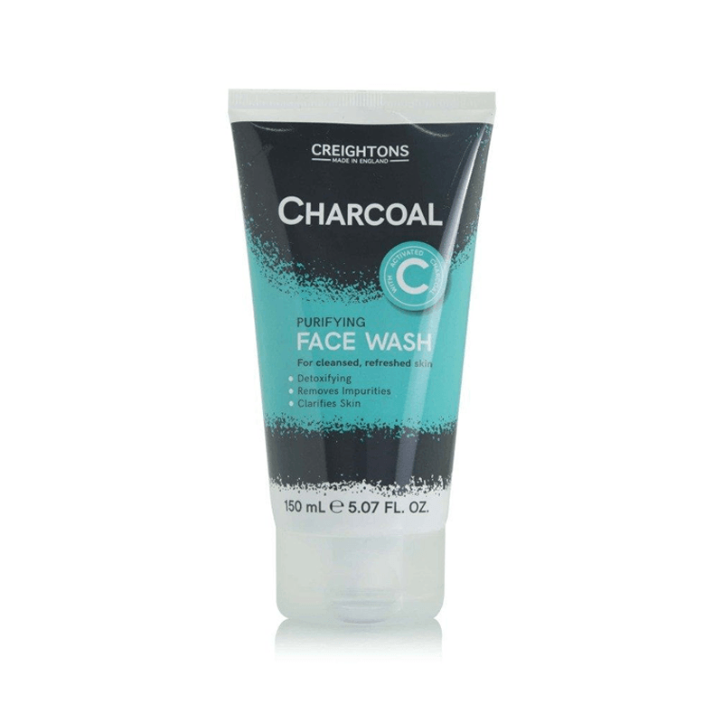 creightons charcoal purifying face wash