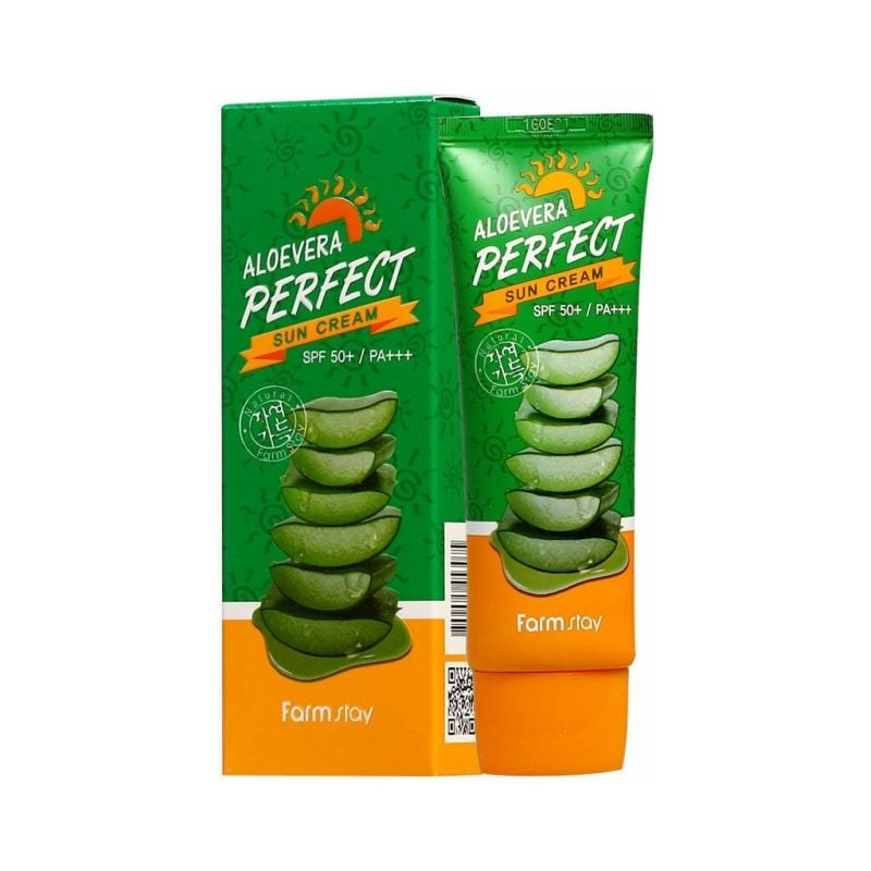 Farm Stay Aloe Vera Perfect Sun Cream SPF 50+/ PA+++ 70g
