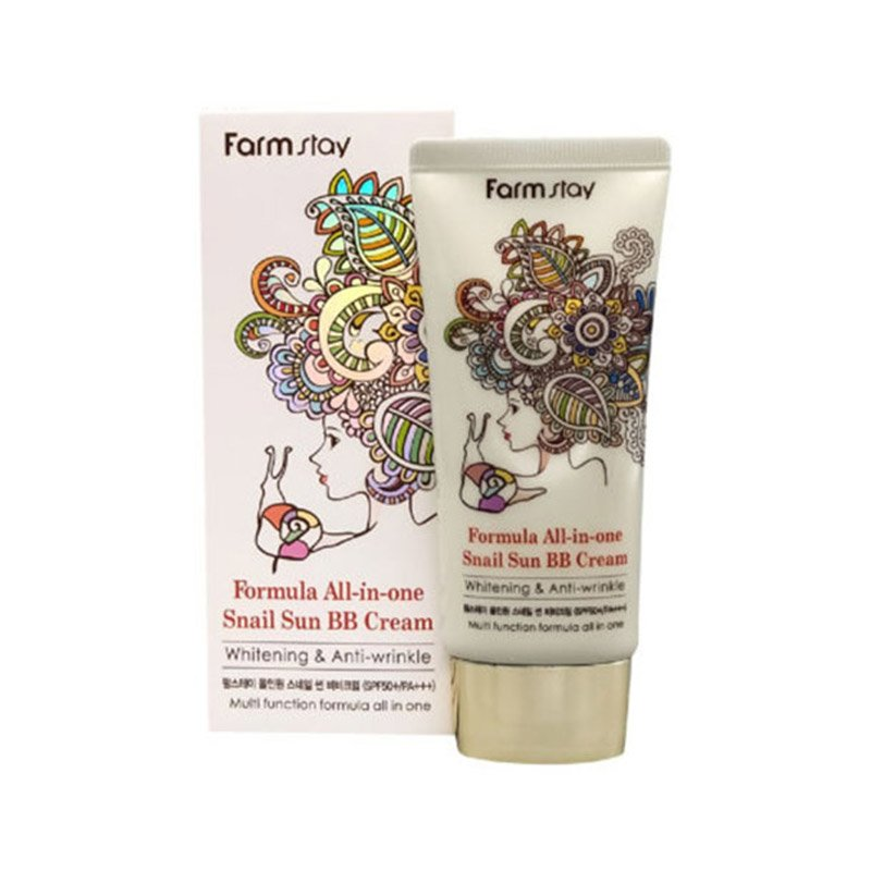 Farm Stay Formula All In One Snail Sun BB Cream - 50g