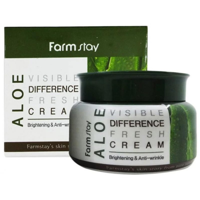 Farm Stay Aloe Visible Difference Fresh Cream - 100g